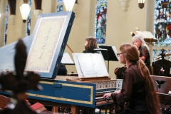 5.2017 from behind left of harpsichord Anne A Ann C Jeana Soli Deo