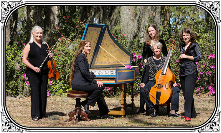 Photograph of Savannah Baroque Early Music Ensemble members