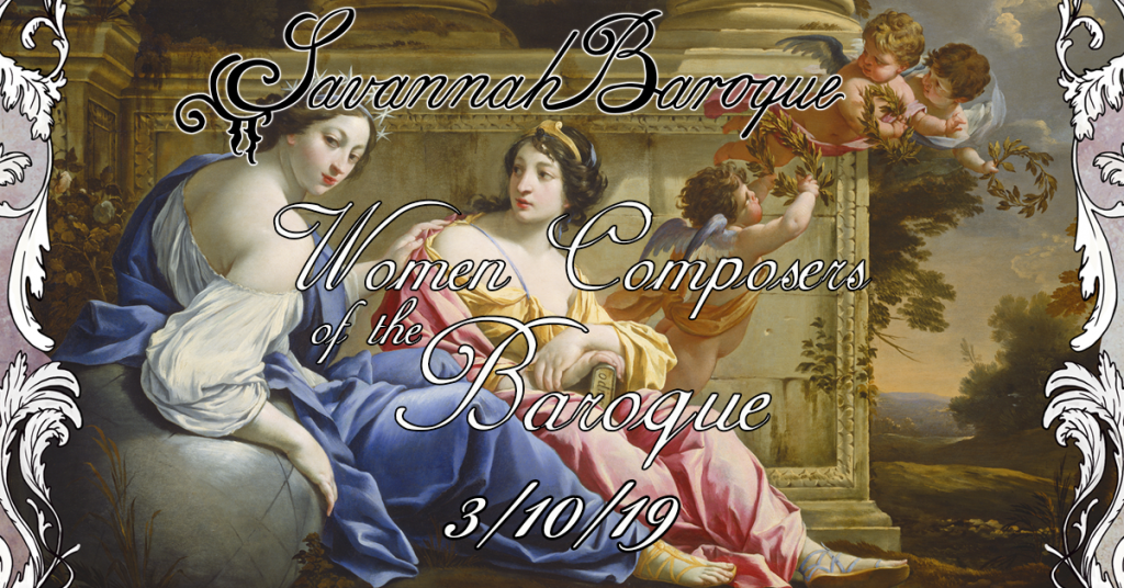 Women Composers of the Baroque poster detail