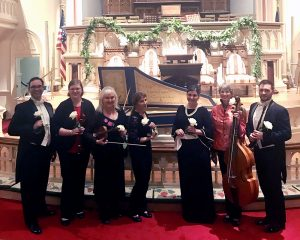 Savannah Baroque after Women Composers 3.19 with white roses