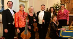 Photo of Savannah Baroque members after a performance