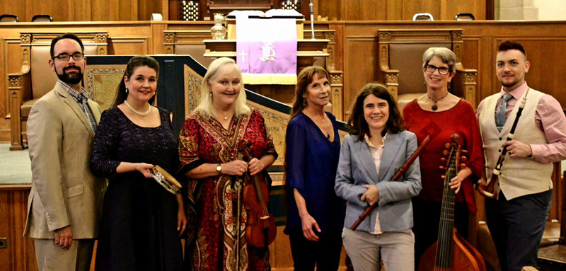 Ensemble photo after Follie and Fantasies concert, March 4. 2018
